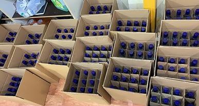 Yılbaşı öncesi içki operasyonları hız kesmiyor: 5 ton sahte içki ele geçirildi