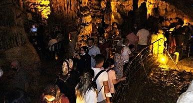 UNESCO Dünya Mirası Geçici Listesindeki Ballıca Mağarası'na yoğun ilgi!
