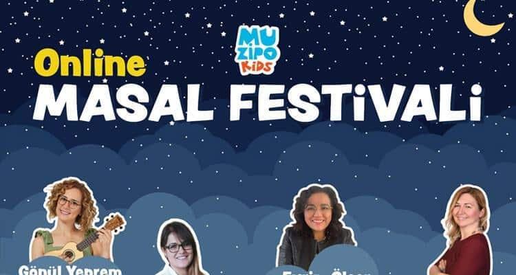 Muzipo Kids nedir? Muzipo Kids online masal festivali ne demek?