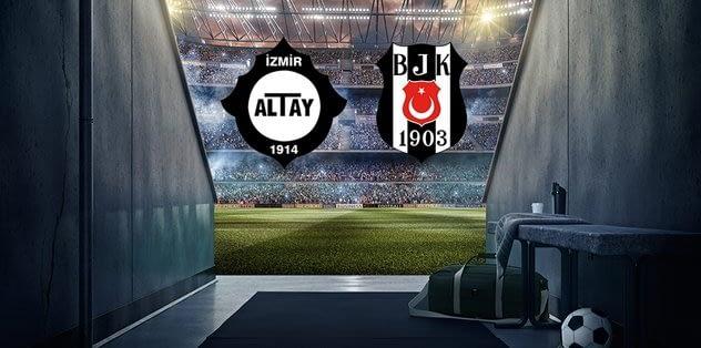 Altay-Bjk maçı ne zaman? Altay-Beşiktaş maçı hangi kanalda?