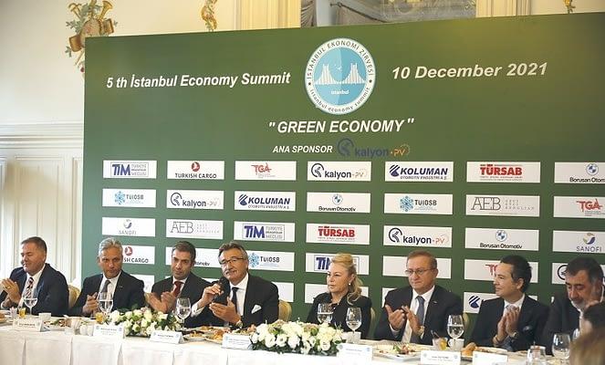 İstanbul Ekonomi Zirvesi'nde bu yıl 'Yeşil Ekonominin Önemi' teması gerçekleşecek!