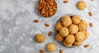 Dünyaca ünlü şeflerden yemek tarifleri | Glutensiz bademli kurabiye