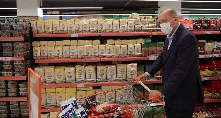 Cumhurbaşkanı Tarım Kredi Market'i ucuz buldu!