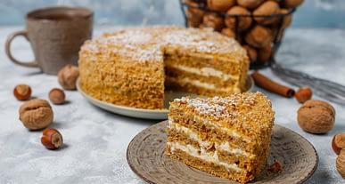 Dünyaca ünlü şeflerden yemek tarifleri | Cevizli - kahveli kek